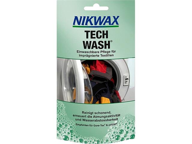 Nikwax Tech Wash - 100 ml bleu/turquoise